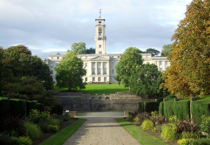 Master of Science – Civil Engineering – Nottingham University, UK