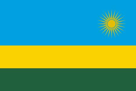 Students from Rwanda